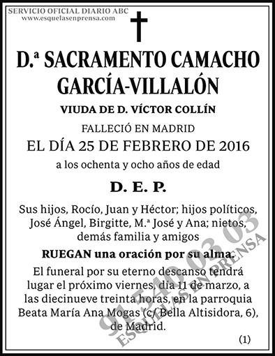 Sacramento Camacho García-Villalón